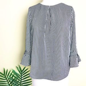 Monteau striped blouse